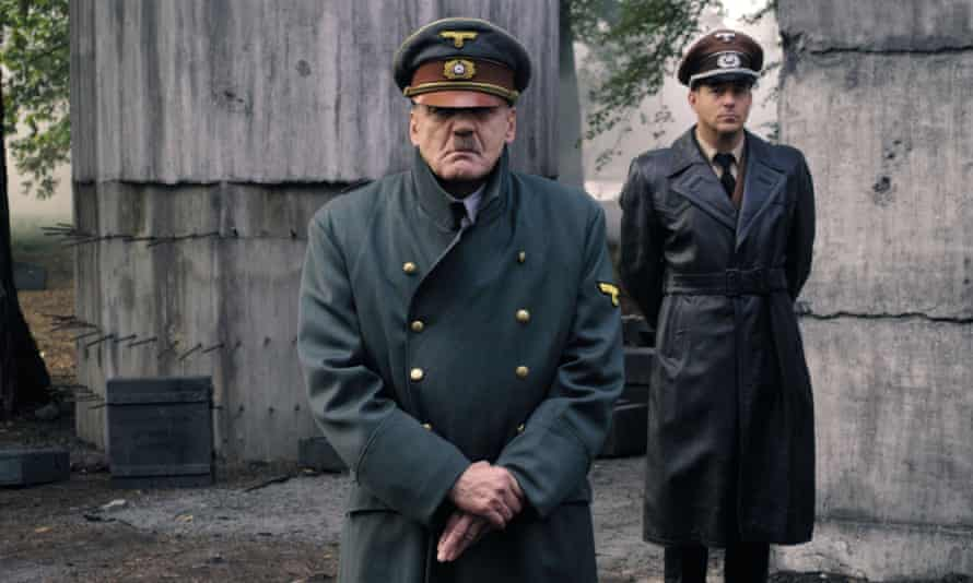 Bruno Ganz in the role of Hitler in the movie Downfall
