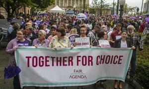 Queensland's abortion decriminalisation