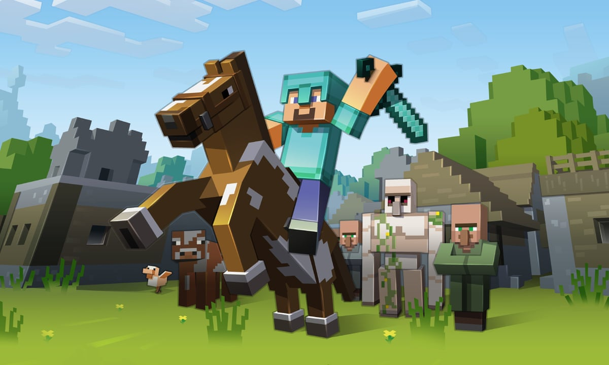 Block Party Eight Brilliant Minecraft Models To Attempt At Home Games The Guardian