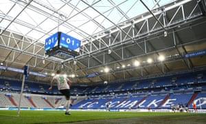 Schalke lost 1-0 at home to Werder Bremen inside an almost empty stadium.