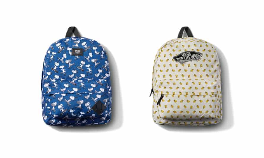 Vans x Snoopy backpacks, £40 vans.co.uk