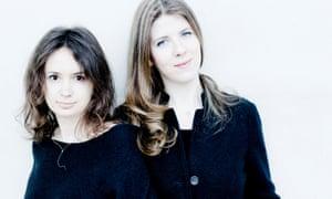 Edgy … Patricia Kopatchinskaja and Polina Leschenko.