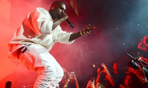 Helped define a tumultuous year … Kanye West.