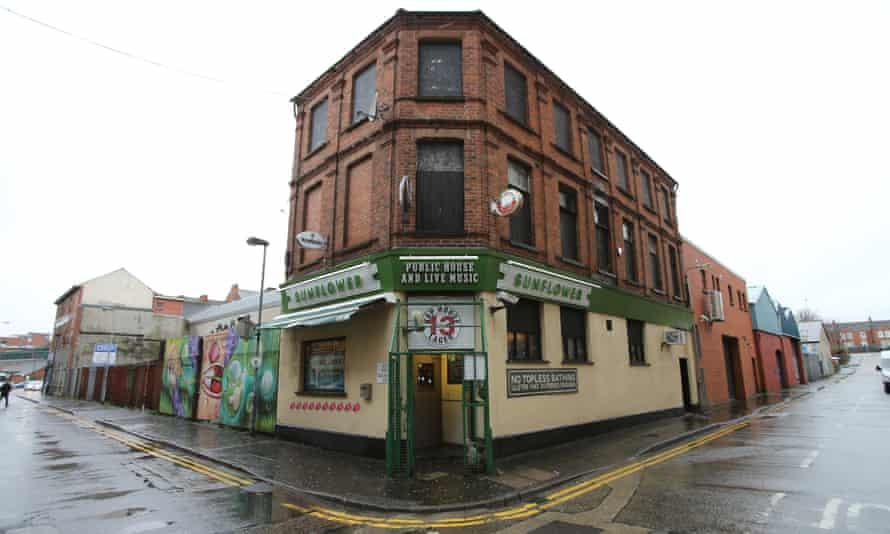 The Sunflower Bar in Belfast, Northern Ireland.