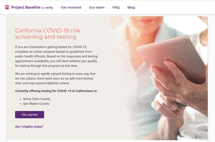 Google S Coronavirus Testing Website Arrives With Serious