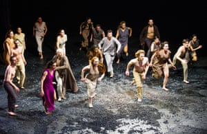 A scene from Sacre by Sasha Waltz and Guests, Sadler's Wells, 2015.