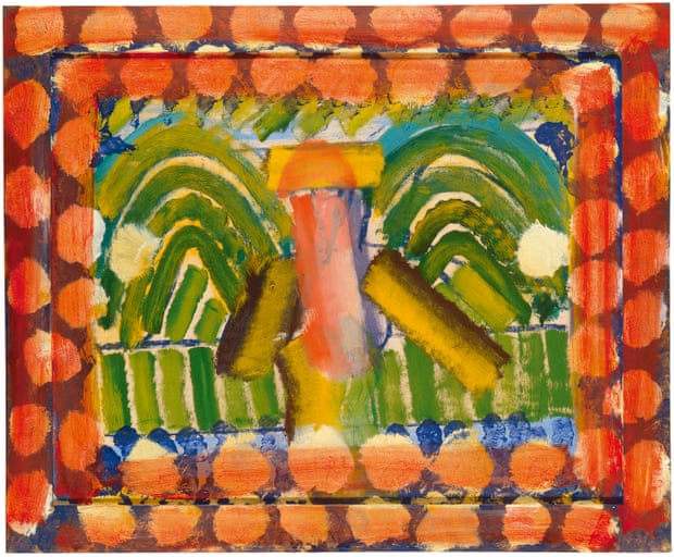 DH in Hollywood, 1980-84 by by Howard Hodgkin.