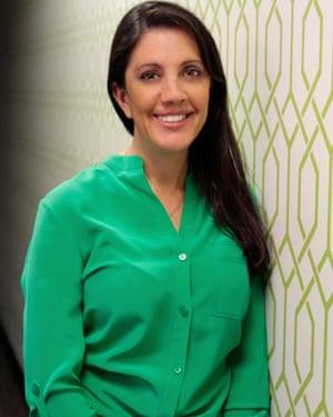 Dr Gina Berman, medical director of the Giving Tree Wellness Center, a cannabis dispensary in Phoenix, Arizona.