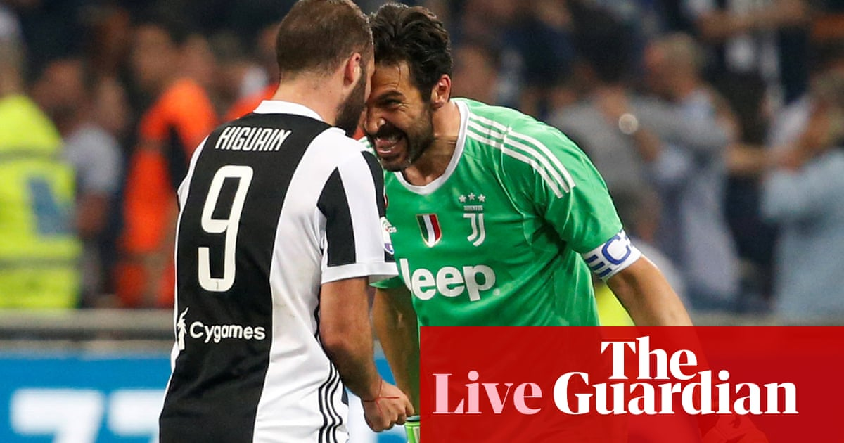 Internazionale 2 3 Juventus Serie A As It Happened Football