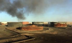 Sidra oil terminal
