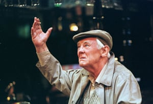 Anthony Booth in Prize Night, written by Jim Cartwright and directed by Greg Hersov, in 1999.