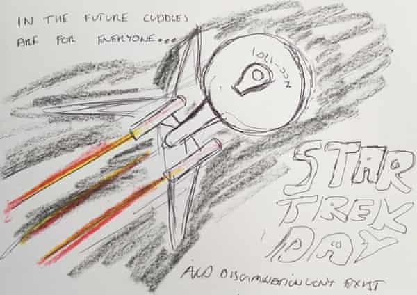 Star Trek Illustration by Chris