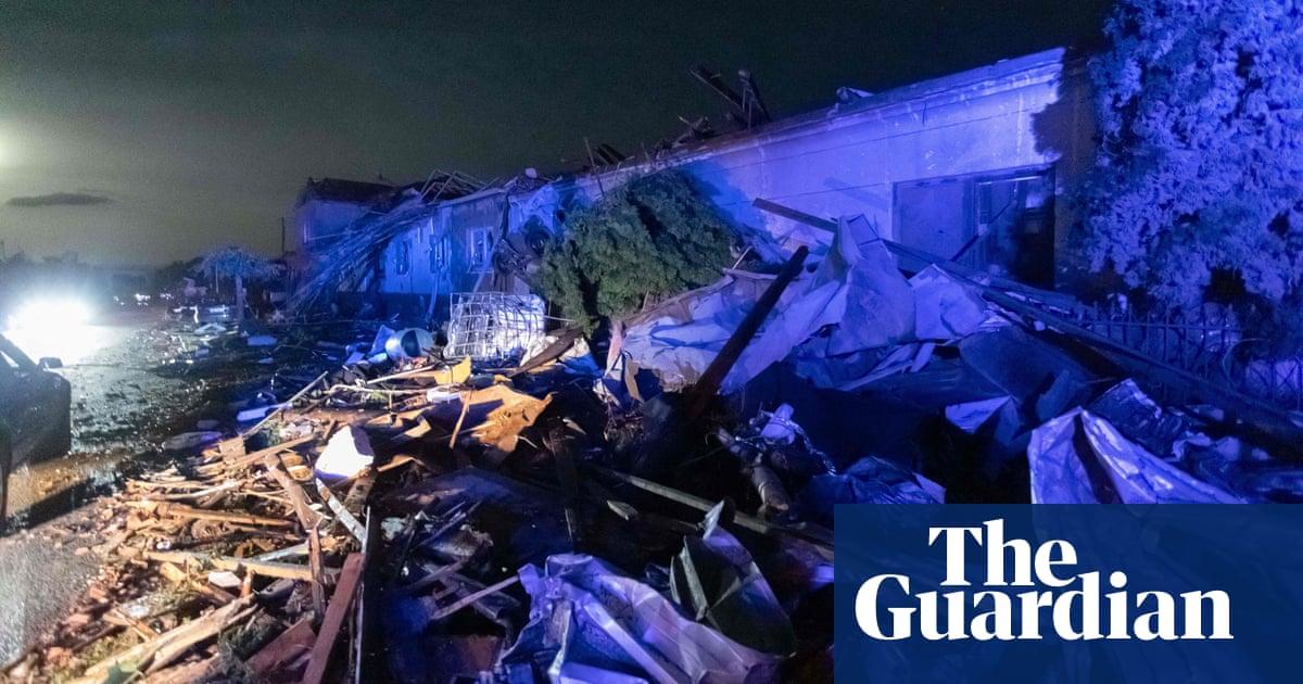 'Living hell': deaths reported as Czech Republic tornado devastates villages