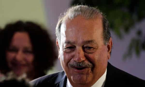 Carlos Slim, Mexican telecoms tycoon.