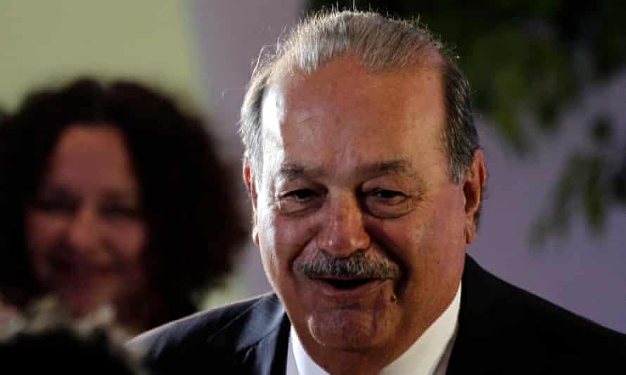 Carlos Slim says companies should create employment and governments tackle poverty and education – 'it's a problem of management and efficiency'.