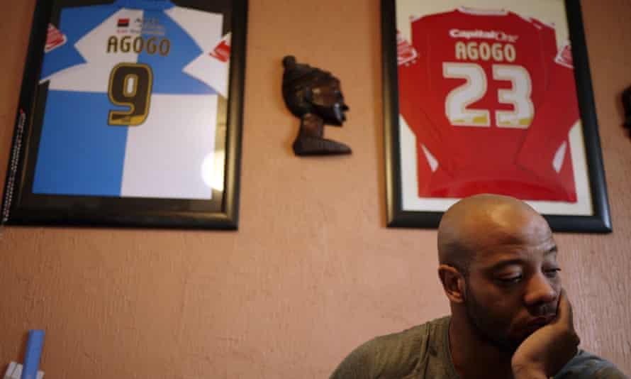 Former Premier League footballer Junior Agogo.