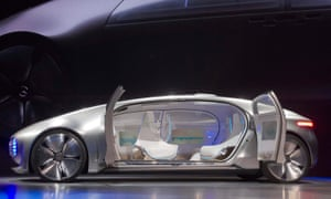 The Mercedes F 015 Luxury in Motion