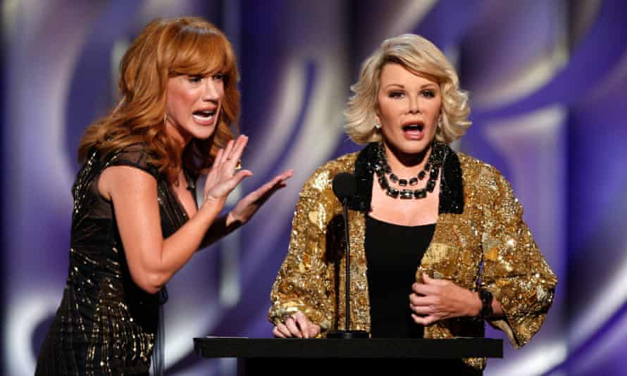 Kathy Griffin with Joan Rivers