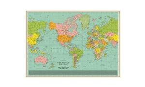 World song map, £25wearedorothy.com