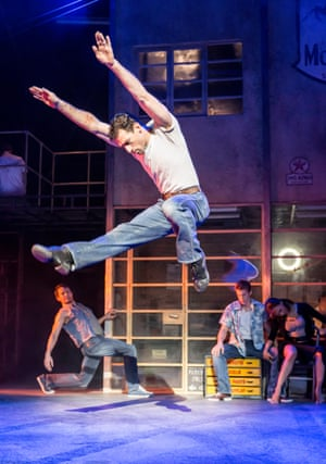 'Charged and charismatic': Jonathan Ollivier in The Car Man.