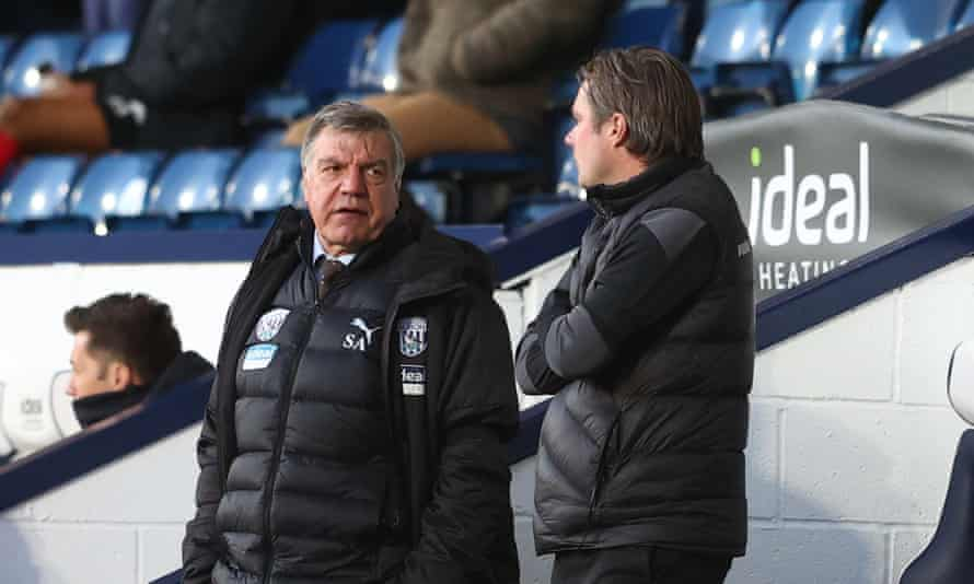 Sam Allardyce was unimpressed by the VAR issue that stopped Mbaye Diagne's early header from being awarded.