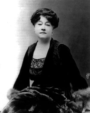 Film pioneer Alice Guy-Blache (1873-1968)