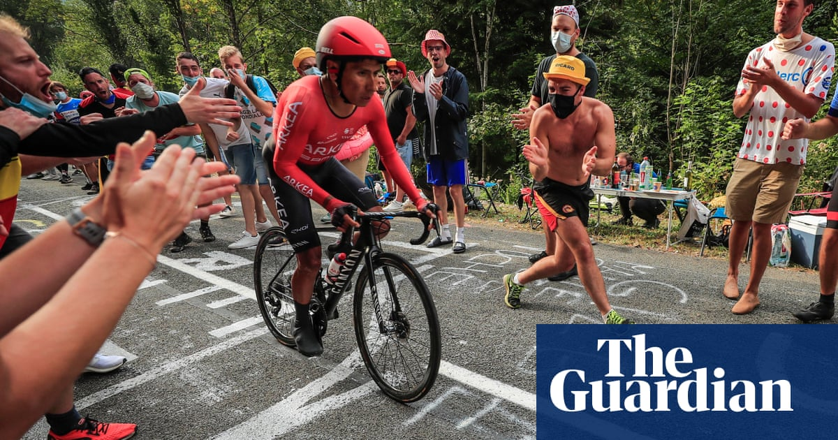 Nairo Quintana denies wrongdoing over alleged doping at Tour de France