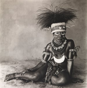 Sitting Enga Woman, New Guinea, 1970, printed1986