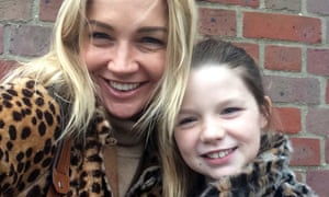 Jess Cartner-Morley with her daughter Pearl.