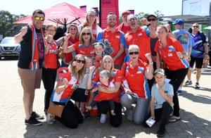 NSW Swifts fans