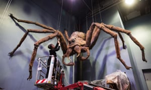 The fearsome three-ton spider, featured in Harry Potter and the Chamber of Secrets