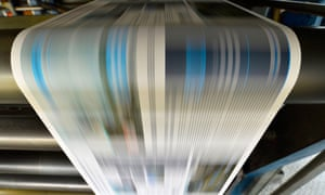 Weekly circulation among Britain's regional and local newspapers decreased by 51% over the past 10 years.