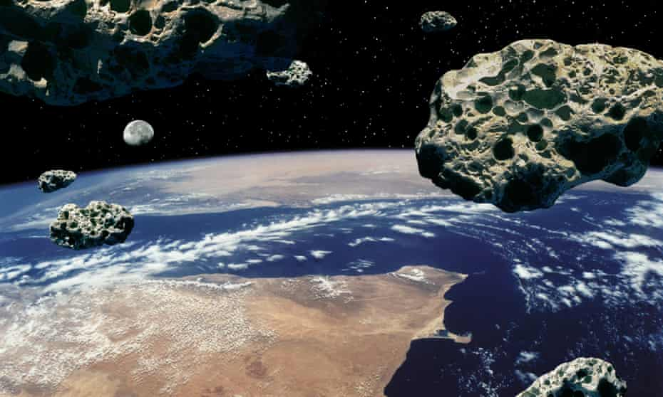 Some asteroids contain valuable minerals such as platinum.