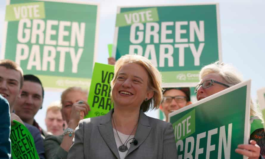Green party leader Natalie Bennett, who promises to put climate change at the forefront of political debate.