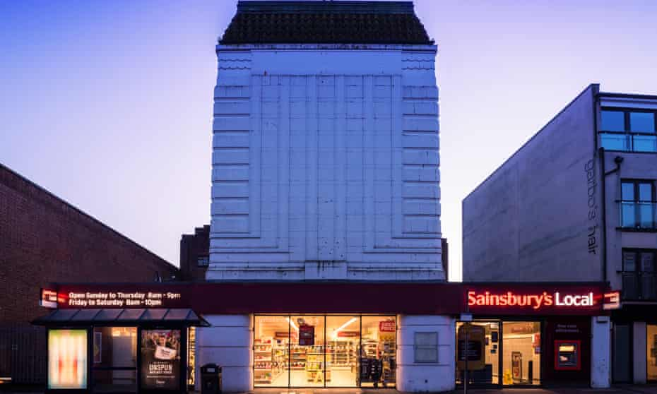 Portsmouth Odeon cinema building.
