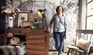 Elisabete Azkoaga in her studio