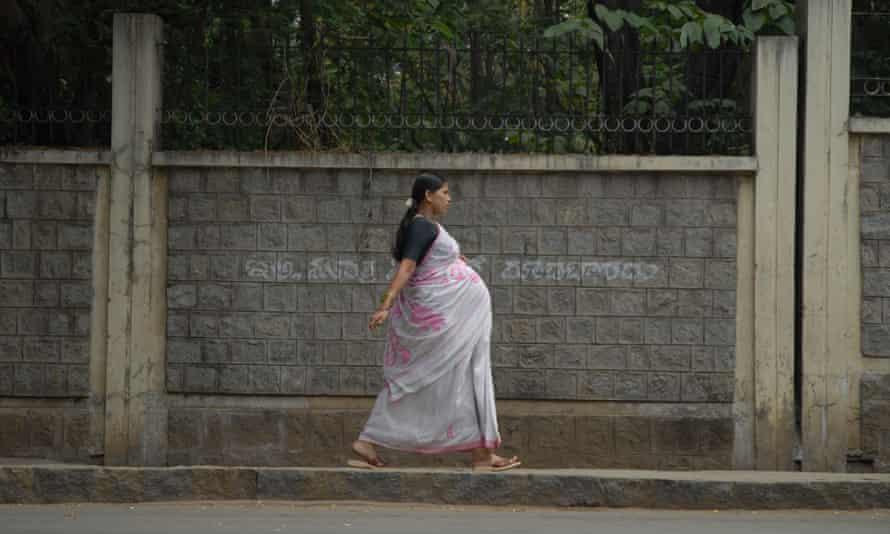 Woman wearing Sari, Bengaluru (then called Bangalore) India, 2006