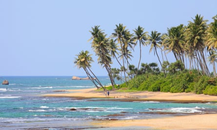 The beach of the Lighthouse Hotel Galle.
