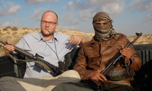 Sándor Jászberényi (left) draws on his real-life experiences in the Middle East