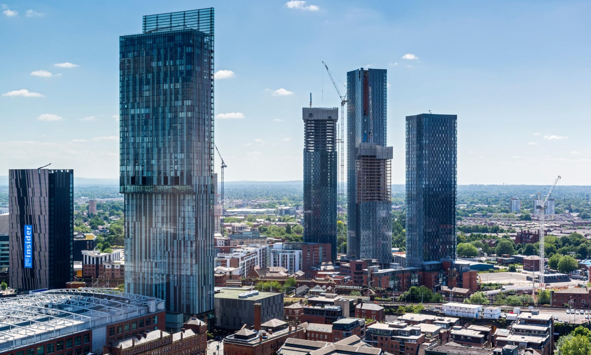 Welcome To Manc Hattan How The City Sold Its Soul For Luxury Skyscrapers Art And Design The Guardian