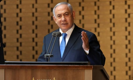 Netanyahu announced he was returning the mandate to form a government, the president said.