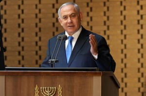"""The office of President Reuven Rivlin said on Monday evening that Netanyahu had announced he would be """"returning the mandate to form the government to the president because he was unable to do [so]""""."""