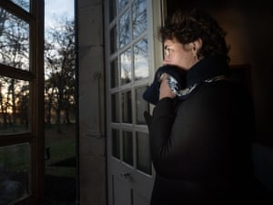 Catherine Gavelle, who lives 300 metres from a hen factory farm