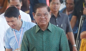 Cambodia's Sar Kheng.