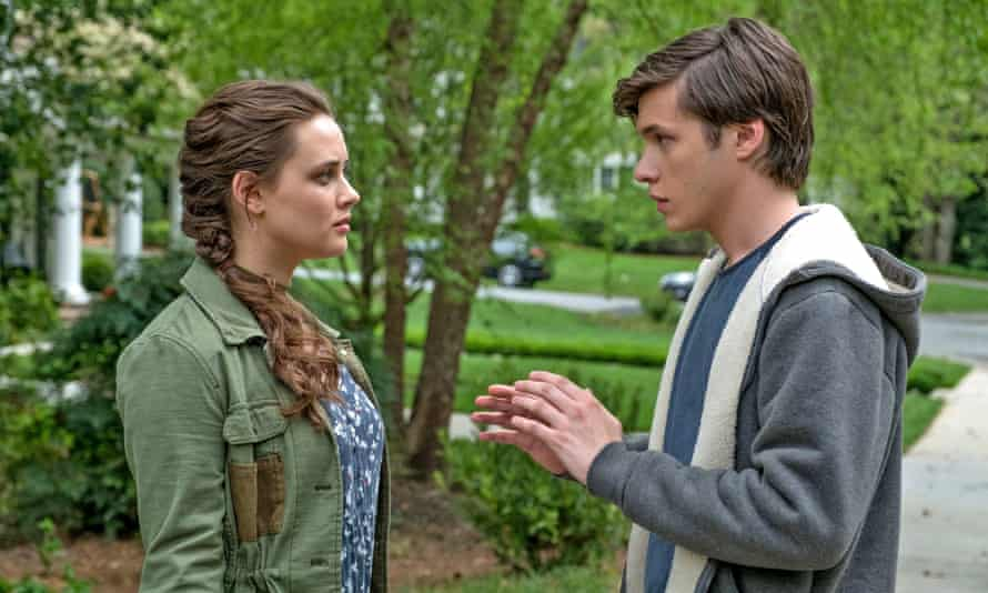 Katherine Langford and Nick Robinson, at the heart of the new coming-out drama, Love, Simon.
