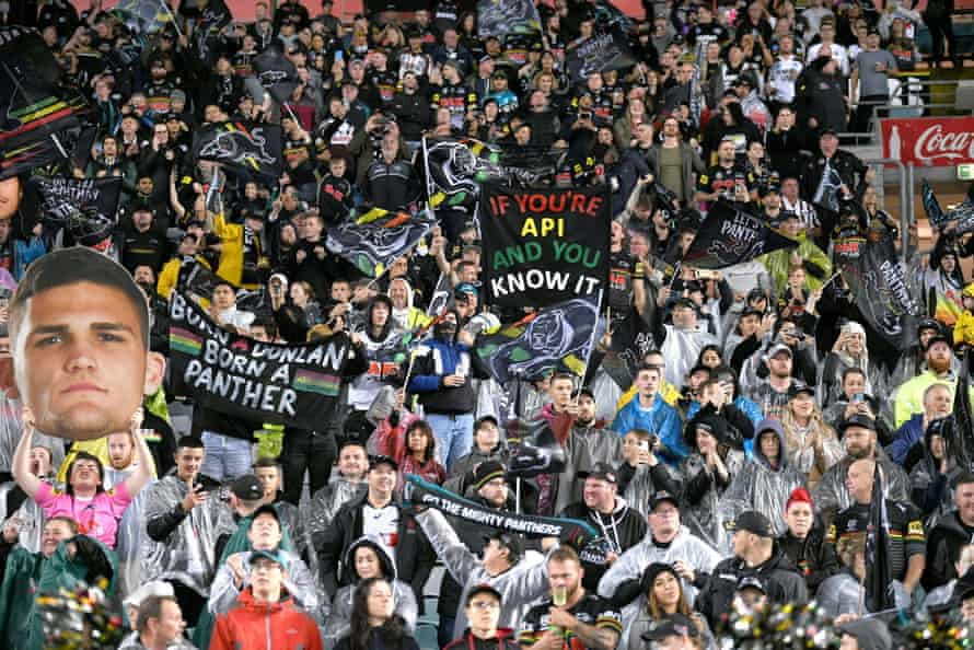 The 2020 NRL grand final – Penrith Panthers v Melbourne Storm – at Sydney's ANZ Stadium on 25 October.