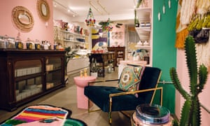 The inside of the store with lots of home furnishings