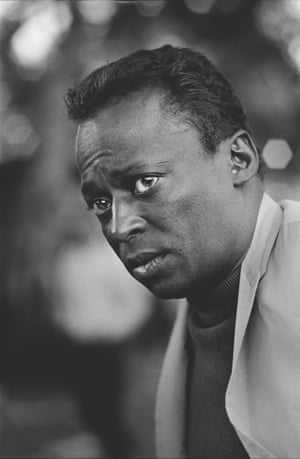 Miles Davis at Monterey in 1964 by Jim Marshall