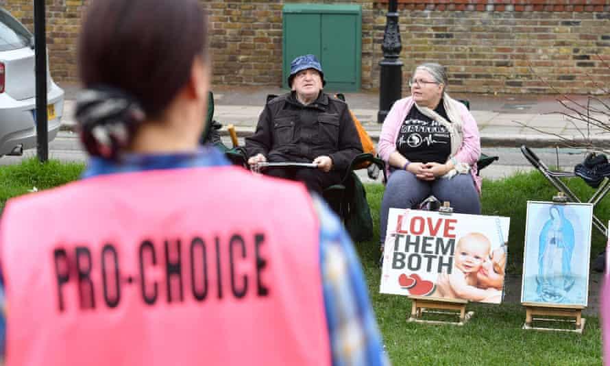 Anti-abortion campaigners