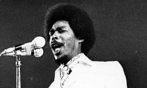 Bob Andy performing in his 1970s heyday.